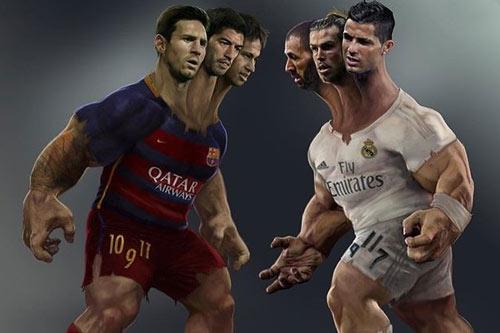 """BBC đấu MSN: """"Đấu súng"""" viễn Tây tại La Liga - 3"""