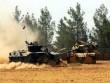 Xe tăng Thổ Nhĩ Kỳ vượt biên giới Syria bắn phá