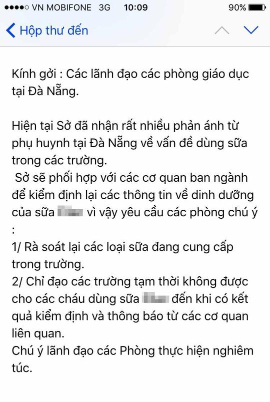 Giả mạo thư điện tử của Giám đốc Sở GD-ĐT Đà Nẵng - 1