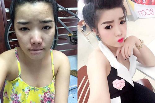 Choáng váng vì mặt thật của cô nàng Hàn Quốc xinh đẹp - 7