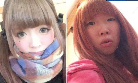 Choáng váng vì mặt thật của cô nàng Hàn Quốc xinh đẹp - 8