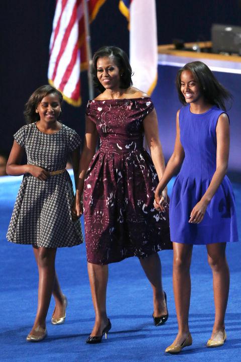 Soi gu thời trang phái đẹp nhà Obama - 1