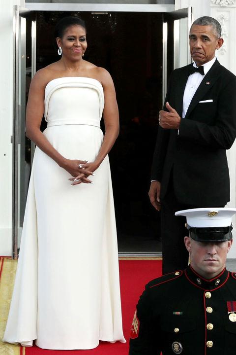 Soi gu thời trang phái đẹp nhà Obama - 5