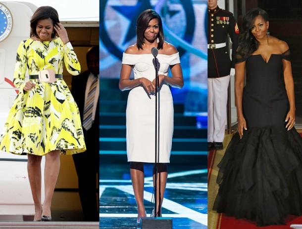 Soi gu thời trang phái đẹp nhà Obama - 4