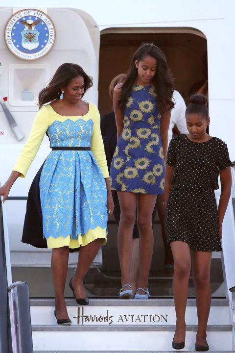 Soi gu thời trang phái đẹp nhà Obama - 8