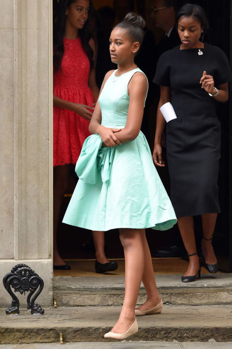 Soi gu thời trang phái đẹp nhà Obama - 9