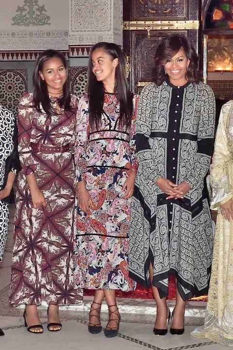 Soi gu thời trang phái đẹp nhà Obama - 11