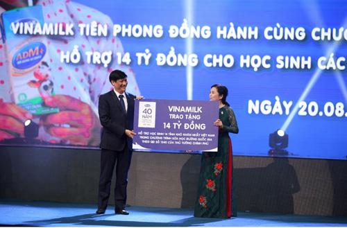 Vinamilk và 40 năm nuôi dưỡng ước mơ Vươn cao Việt Nam - 3