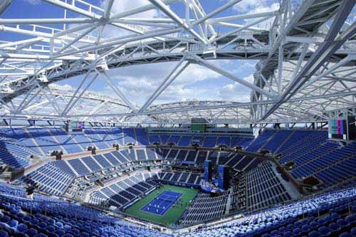 """3000 tỷ VNĐ, 6000 tấn thép: """"Chiếc ô"""" khủng ở US Open - 1"""