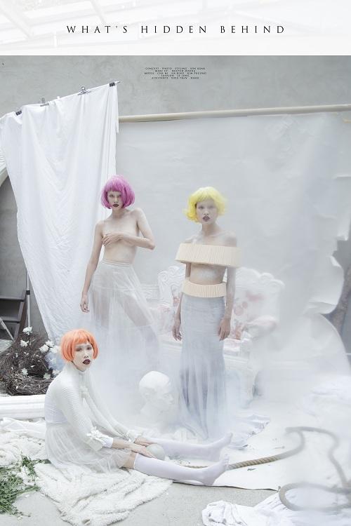 Bộ 3 người mẫu Next Top khoe vai trần gợi cảm - 1