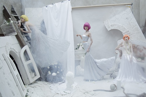 Bộ 3 người mẫu Next Top khoe vai trần gợi cảm - 4