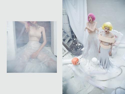 Bộ 3 người mẫu Next Top khoe vai trần gợi cảm - 6