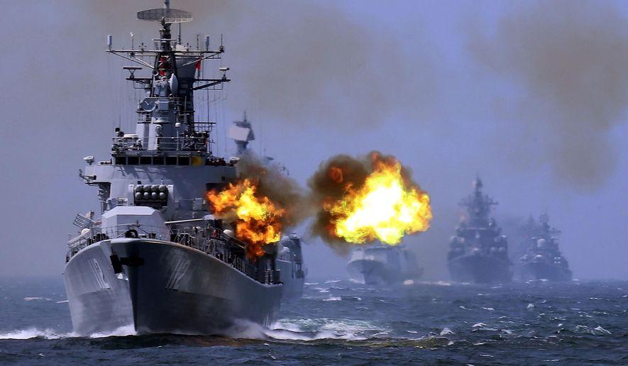 Nga toan tính gì khi tập trận với TQ ở Biển Đông? - 1