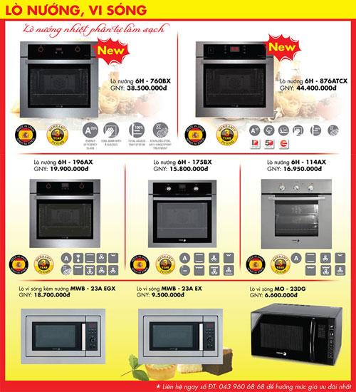 Thiết bị bếp Fagor khuyến mại – Summer Promo 2 - 3