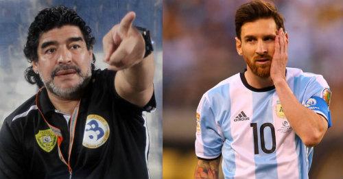 Maradona: Messi diễn kịch vụ chia tay ĐT Argentina - 1