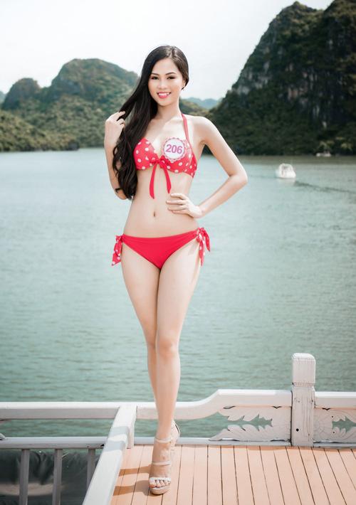 """4 đại diện """"chủ nhà"""" xinh ngất ngây của Hoa hậu VN - 4"""
