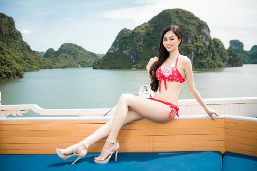"""4 đại diện """"chủ nhà"""" xinh ngất ngây của Hoa hậu VN - 5"""