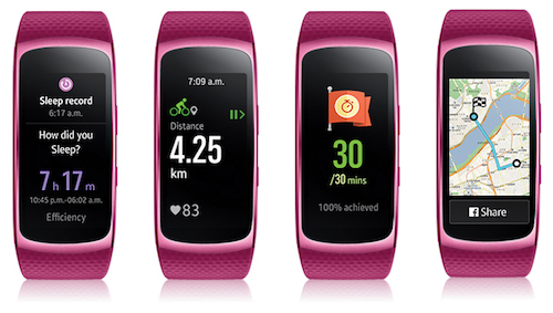 5 tính năng theo dõi sức khỏe nổi bật trên Gear Fit2 - 1