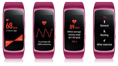 5 tính năng theo dõi sức khỏe nổi bật trên Gear Fit2 - 2