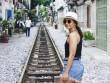 Phố đường ray Hà Nội hấp dẫn du khách nước ngoài