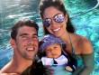 Mỹ mãn Michael Phelps: Vợ đẹp, con khôn và nhà 50 tỷ