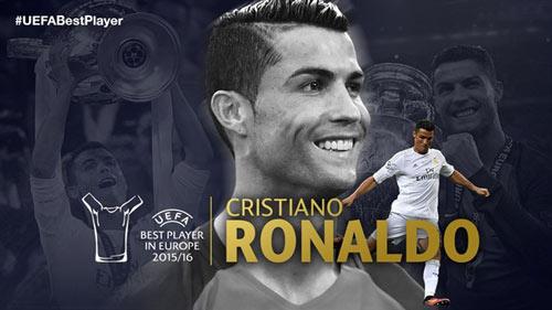 Cầu thủ hay nhất châu Âu: Lần thứ 2 cho Ronaldo - 2