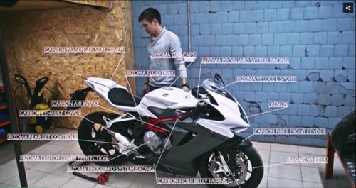 Cận cảnh quá trình lên đồ chơi cho MV Agusta F3 - 1