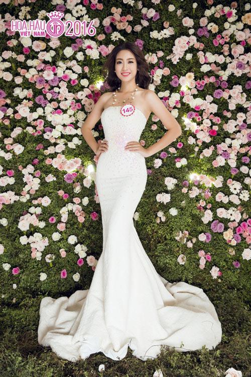 Ngất ngây ngắm nữ sinh dáng chuẩn nhất nhì Hoa hậu VN - 5