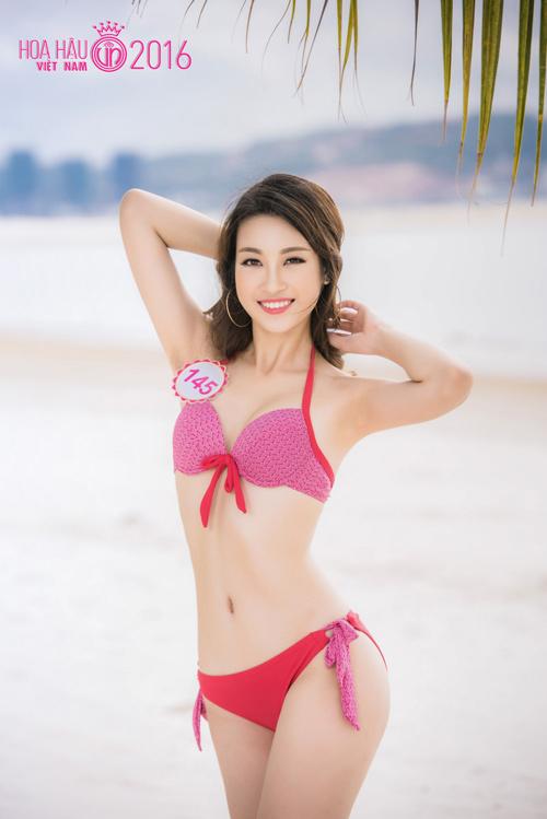Ngất ngây ngắm nữ sinh dáng chuẩn nhất nhì Hoa hậu VN - 2