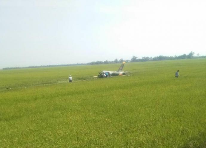 Máy bay quân sự rơi ở Phú Yên, phi công hy sinh - 1