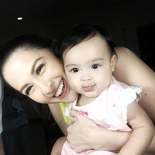 """Mỹ nữ """"của"""" tổng thống Philippines quá đẹp sau sinh con - 2"""