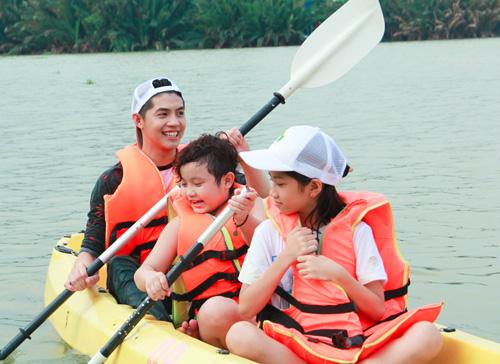Noo Phước Thịnh dã ngoại cùng học trò The Voice Kids - 3