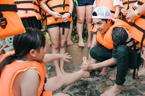 Noo Phước Thịnh dã ngoại cùng học trò The Voice Kids - 7