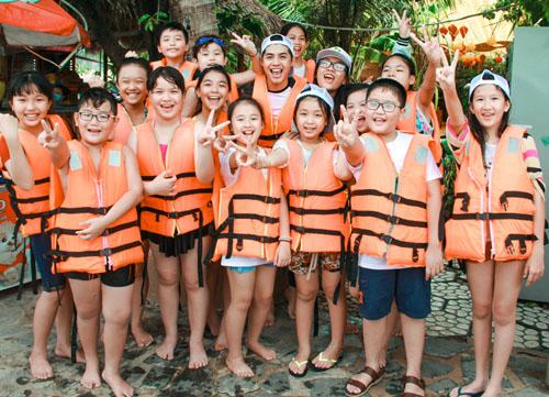 Noo Phước Thịnh dã ngoại cùng học trò The Voice Kids - 8