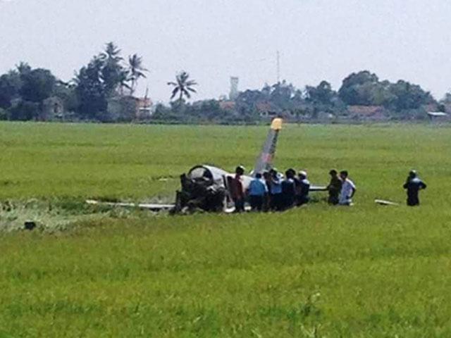 Bộ Quốc phòng: Học viên phi công hi sinh trong buồng lái - 1