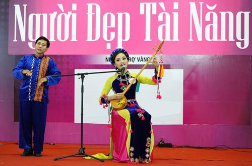 Độc đáo phần thi tài năng của người đẹp Hoa hậu Việt Nam 2016 - 8