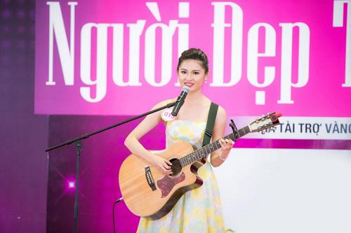Độc đáo phần thi tài năng của người đẹp Hoa hậu Việt Nam 2016 - 4