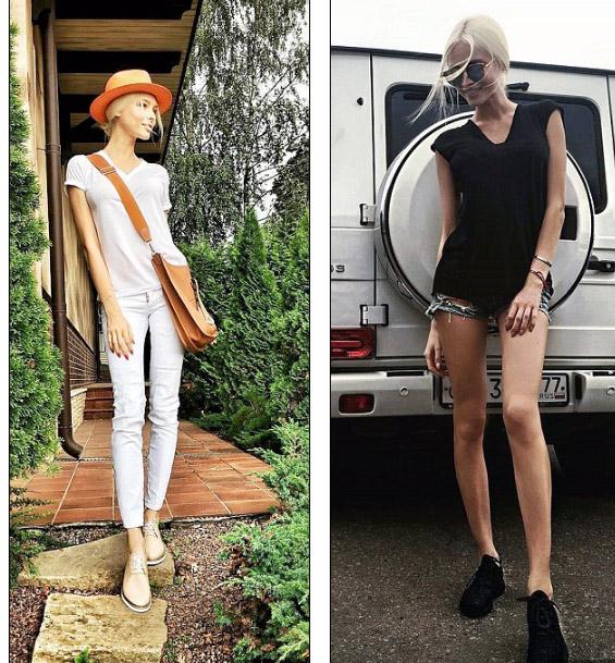 Người mẫu nổi tiếng nước Nga như bộ xương di động - 3