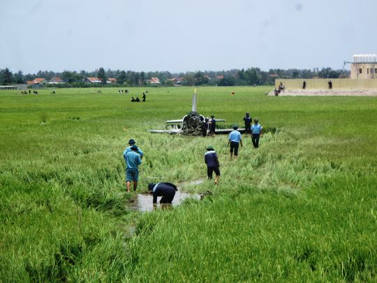 Vụ rơi máy bay ở Phú Yên: Do hỏng động cơ - 1
