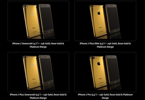 Công ty chuyên mạ vàng điện thoại lộ cấu hình iPhone 7 - 1
