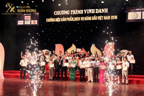 TMV Xuân Hương nhận giải Top 10 thương hiệu làm đẹp hàng đầu Việt Nam - 2