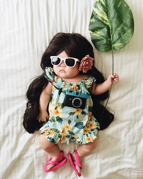 Cô bé 4 tháng tuổi thành ngôi sao hot nhất Instagram - 2