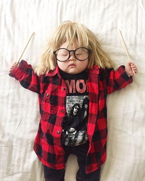 Cô bé 4 tháng tuổi thành ngôi sao hot nhất Instagram - 3