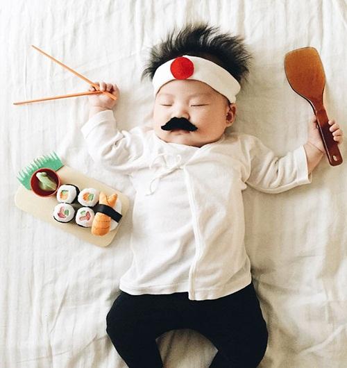 Cô bé 4 tháng tuổi thành ngôi sao hot nhất Instagram - 11