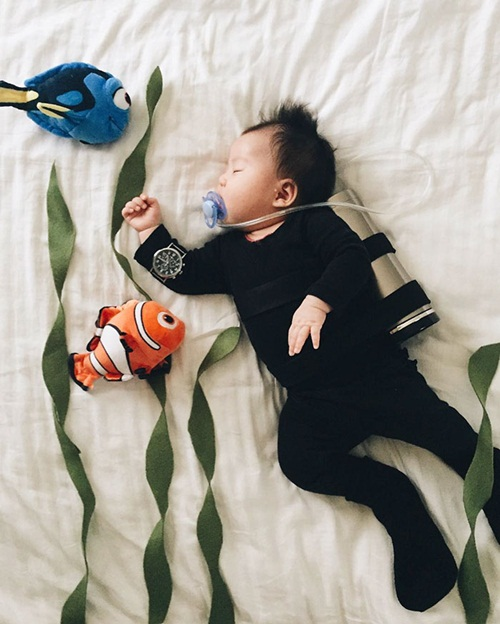 Cô bé 4 tháng tuổi thành ngôi sao hot nhất Instagram - 13