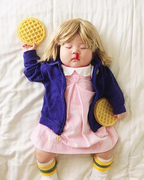 Cô bé 4 tháng tuổi thành ngôi sao hot nhất Instagram - 15
