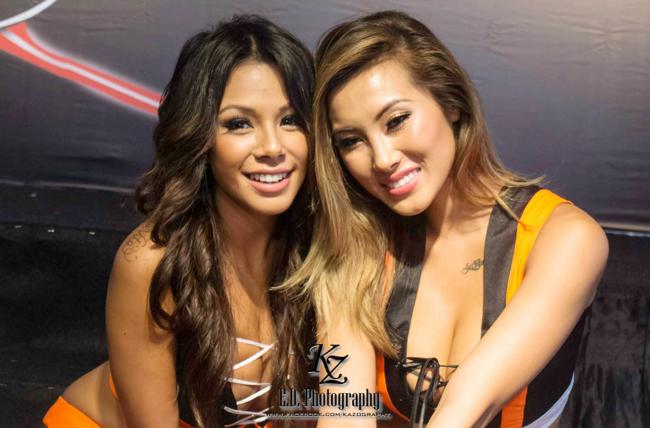 Hai người đẹp sở hữu nhan sắc nóng bỏng