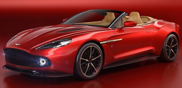 Aston Martin Vanquish Volante Zagato chỉ sản xuất 99 chiếc - 1