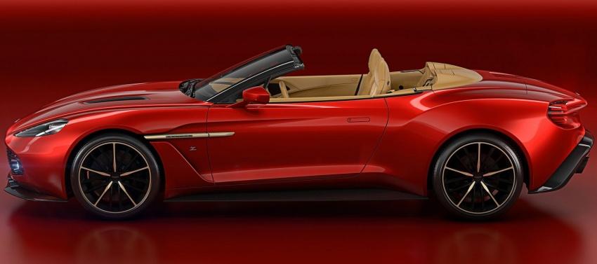 Aston Martin Vanquish Volante Zagato chỉ sản xuất 99 chiếc - 4