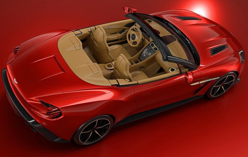 Aston Martin Vanquish Volante Zagato chỉ sản xuất 99 chiếc - 3